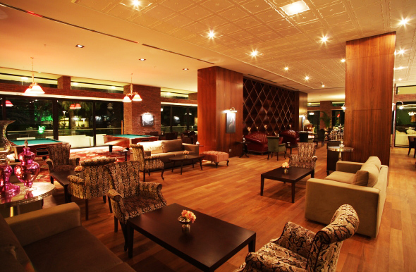 Lobby Bar is an ideal place for a light snack, afternoon tea or coffee